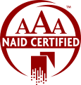 AAA Certified with National Association for Information Destruction