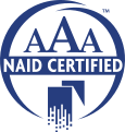 AAA Certified with National Association for Information Destruction - Click for more info